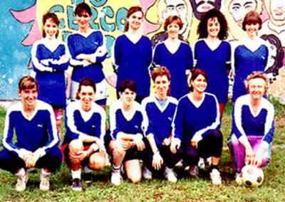 Squadra di calcio femminile