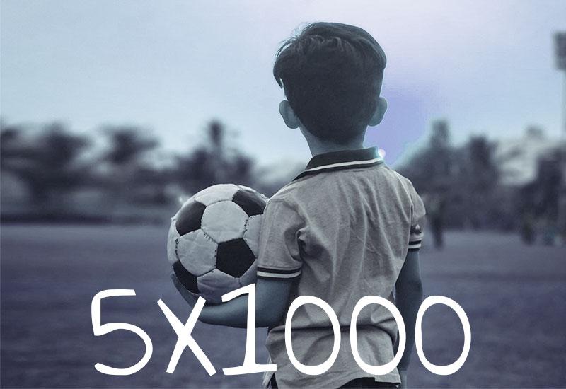 5×1000 Amor Sportiva